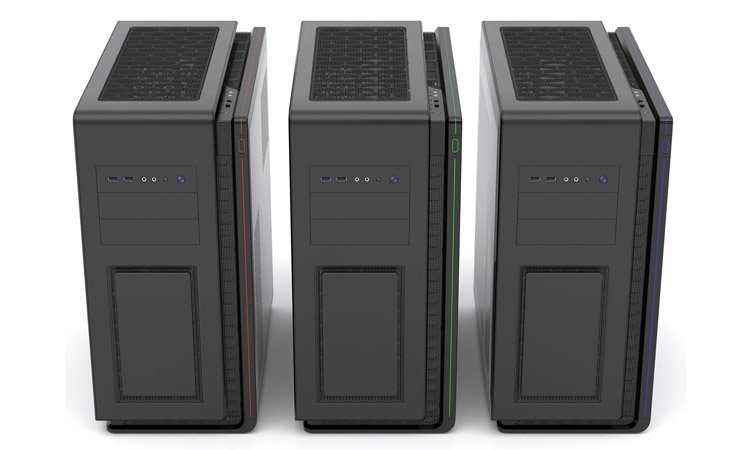 Phanteks Enthoo Mini-XL Dual Systems