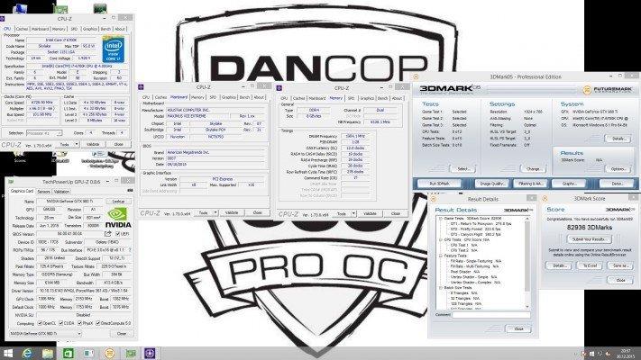 Dancop 3DMark05 - 82936 pts