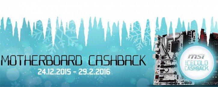 MSI carte mère Cashback 2016