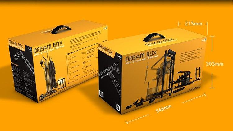 aerocool dream box un bo tier tubulaire monter soi m me overclocking made in france. Black Bedroom Furniture Sets. Home Design Ideas