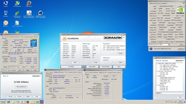 Dancop 3DMark 321060 Marks