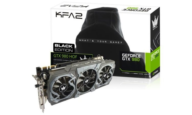 KFA² GTX 980 HOF Black Edition