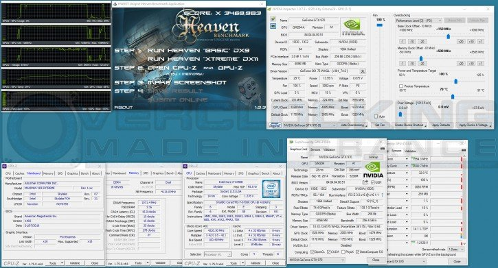 KFA2 GTX 970 EXOC OC Unigine