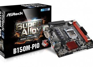 ASRock B150M-PIO PCIe 90°