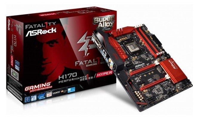 ASRock Fatal1ty H170 performance HYPER