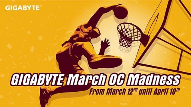 Gigabyte March O.C Madness