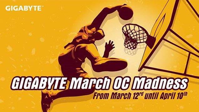 Gigabyte March O.C Madness