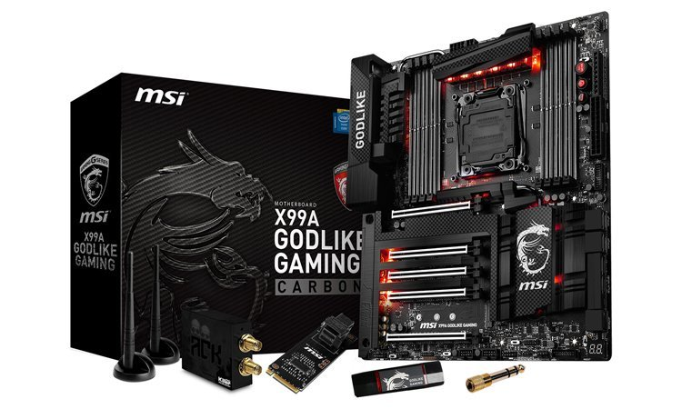 MSI X99 Godlike Gaming Carbon 1