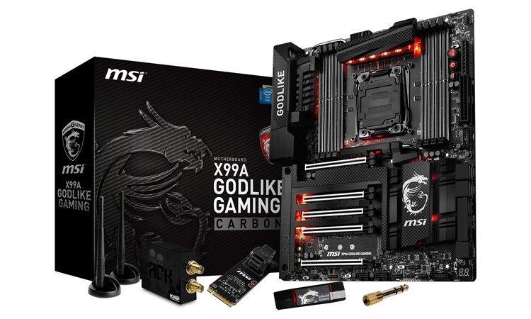 MSI X99 Godlike Gaming Carbon 1