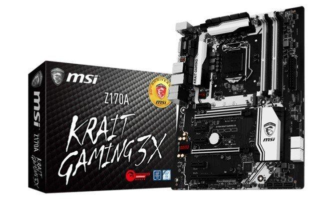 MSI Z170A Krait Gaming X3