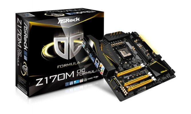 ASRock Z170M OC Formula 1 - OC i9 9900K 5.5 GHz