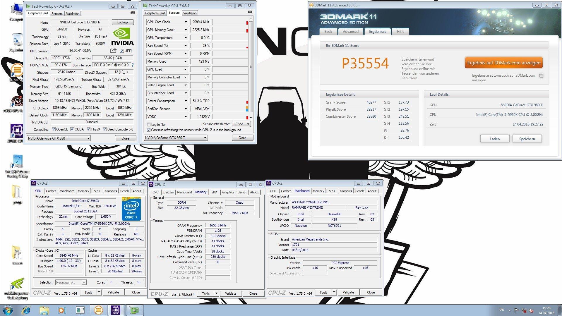 Dancop 3Dmark11 35554 Marks