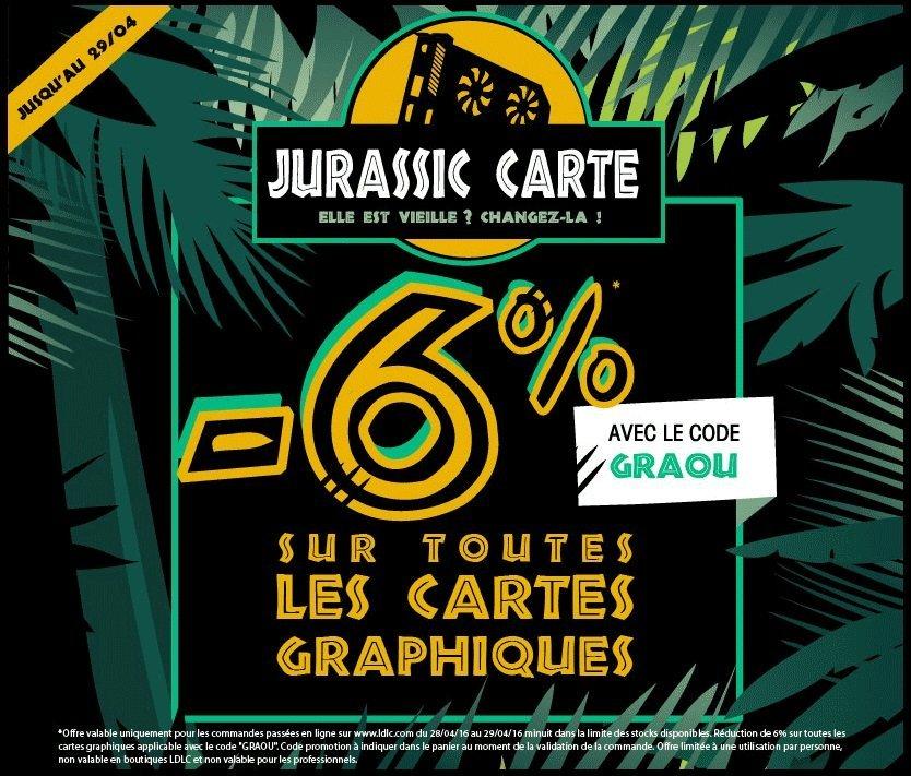 LDLC Jurassic Carte