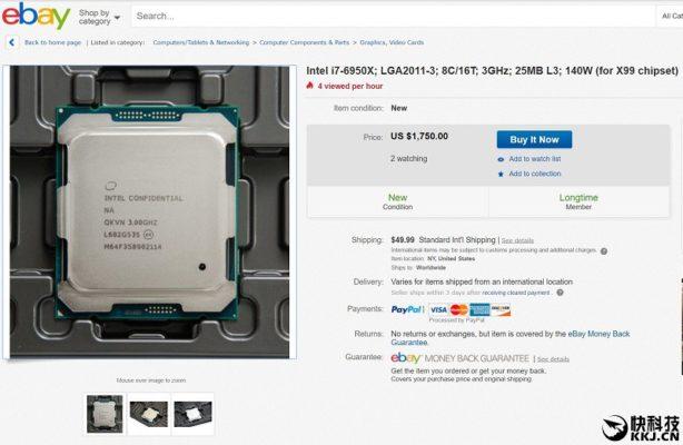 eBay i7 6950X - $1750