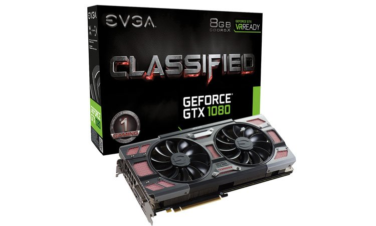 EVGA GTX 1080 Classified