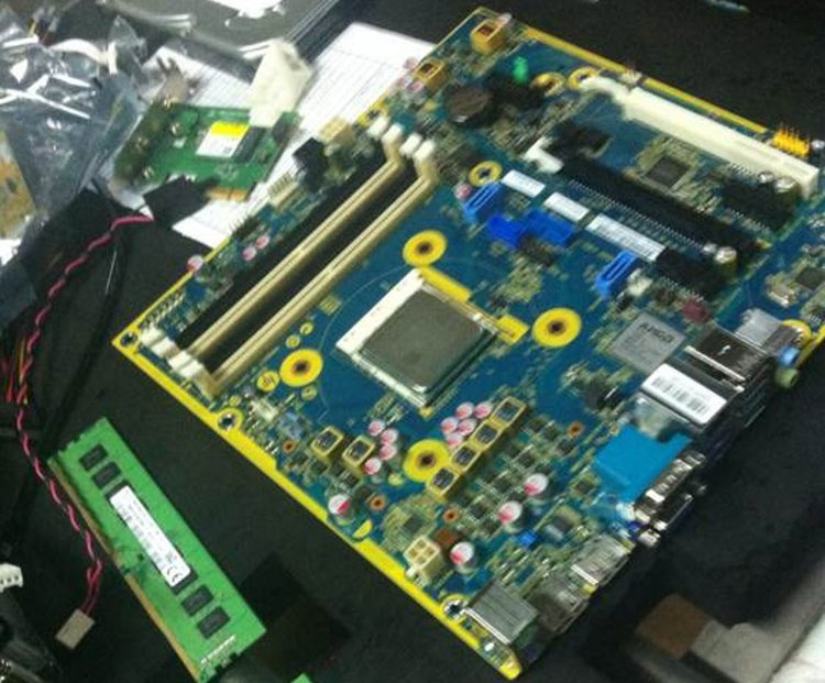 Carte mère HP AMD AM4