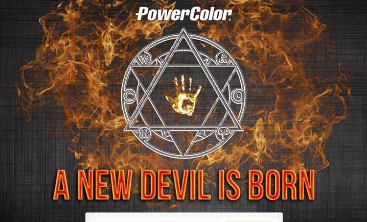 PowerColor RX 480 Devil teaser