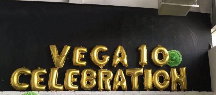 Vega 10 Celebration