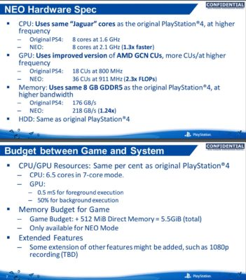 PS4 Neo leak 2