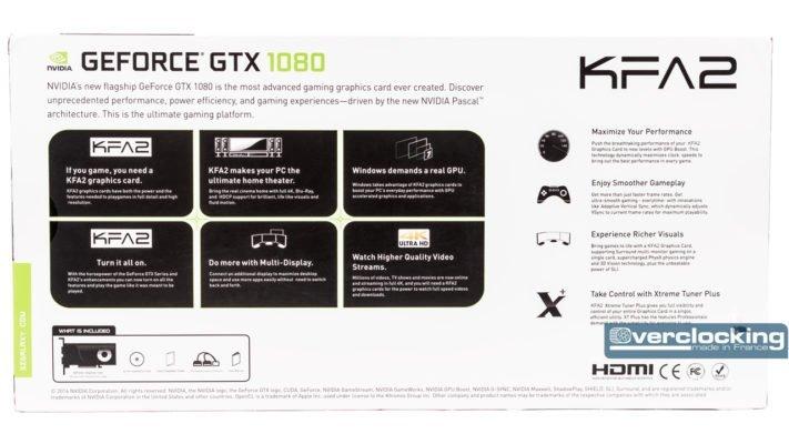 KFA2 GTX 1080 HOF 16