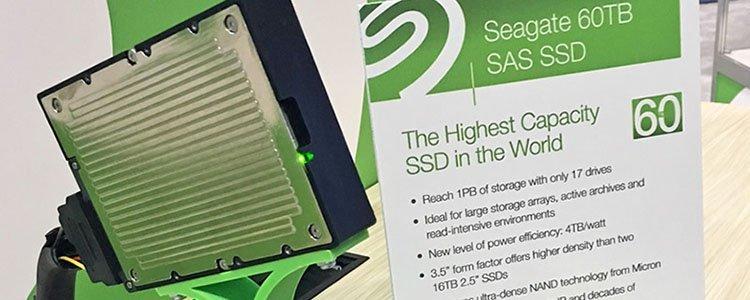 Seagate SAS SSD 60 To
