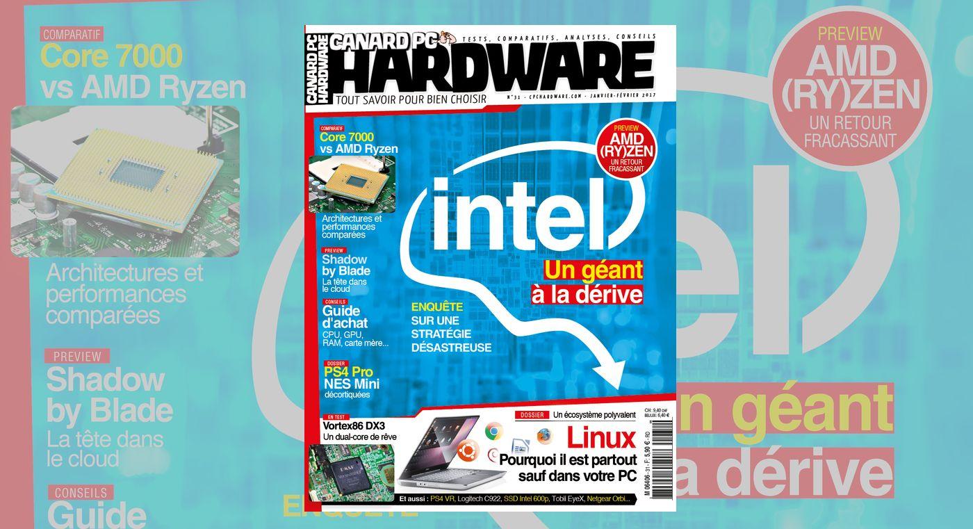Kaby Lake, Ryzen, Intel à la dérive