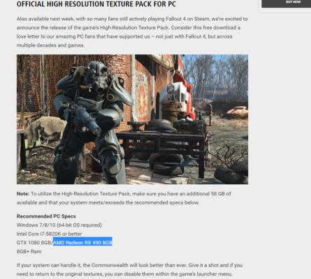 Fallout 4 RX 490