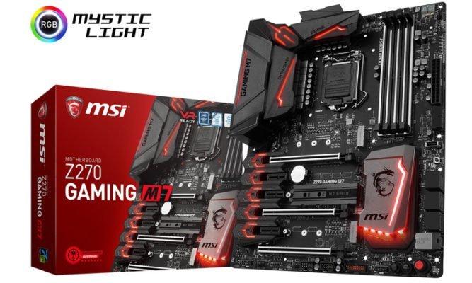 MSI Z270 Gaming M7