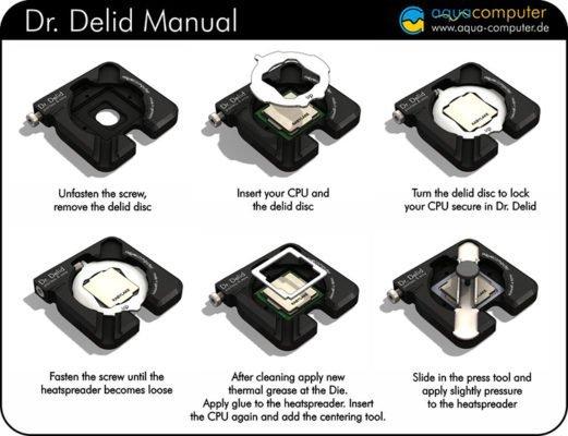 AquaComputer Dr Delid
