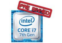 Core i7 7700K pré-binné