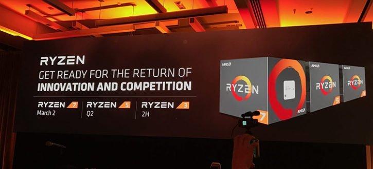 RyZen 5 & 3 lancement