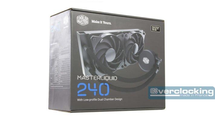Cooler Master MasterLiquid 240 boîte 3