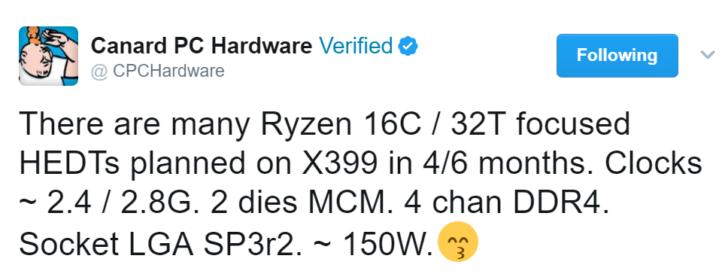RyZen 16 cœurs / 32 threads