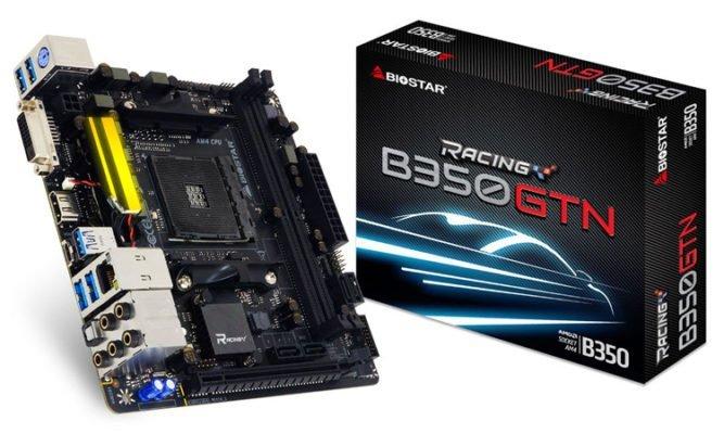 Biostar B350GTN