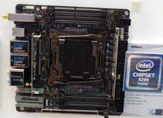 ASRock X299E-ITX AC