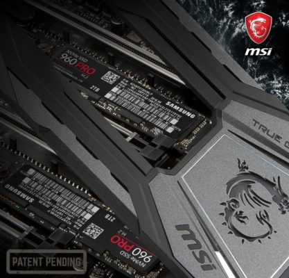 X299 MSI Shield Cooling
