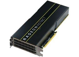 AMD RADEON Instinct Mi25 - Vega 20 7 nm