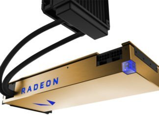 AMD RADEON Pro Vega Frontier Edition watercooled