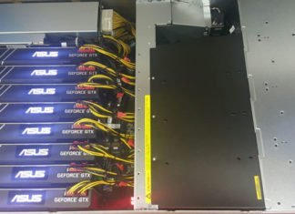 ASUS & Strongbox 8x GTX 1080 Ti