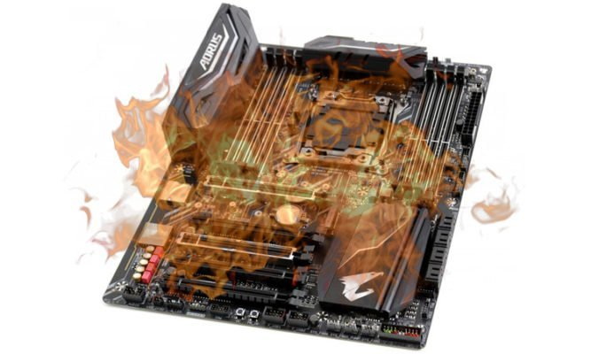 Intel X299 problème de chauffe