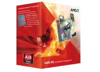 AMD A8-8350 Llano