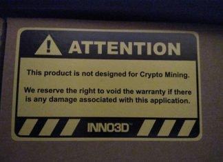 Inno3D mining garantie