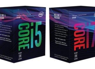 Intel Coffee Lake boîte