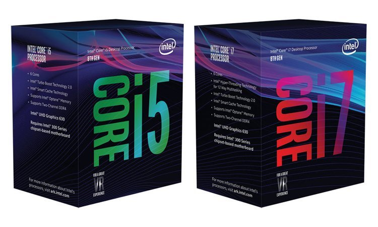 Intel Coffee Lake boîte