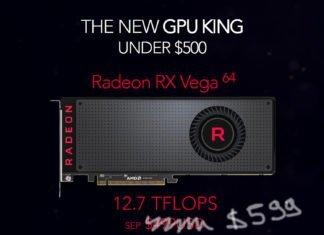 RX Vega 64 $599