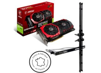 MSI GTX 1060 Gaming X 3 Go + TILTeek FixCard