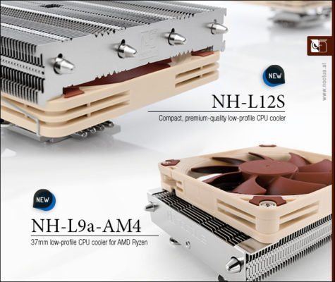 Noctua NH-L12S & NH-L9a-AM4