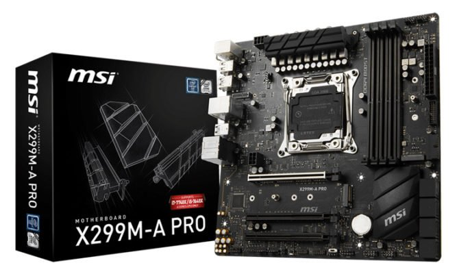 MSI X299M-A Pro