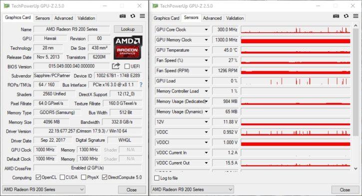 TechpowerUp GPU-Z v2.5.0