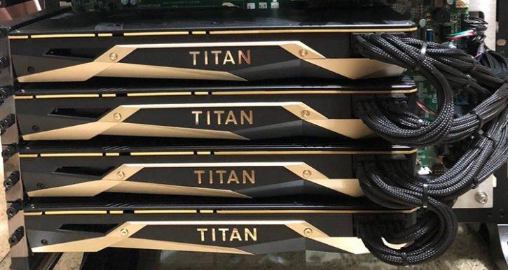 4x Titan V + 2x Xeon E5-2299